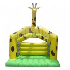 Springkussen de Giraffe lxbxh 5x4,2x4m.