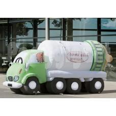 Opblaasbare Vrachtauto met Fles